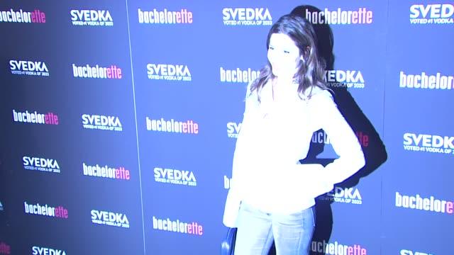 "mercedes masohn at ""bachelorette"" - new york premiere at sunshine landmark on september 04, 2012 in new york, new york - ランドマークサンシャインシアター点の映像素材/bロール"