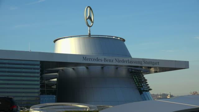 mercedes-benz brand, bad canstatt, stuttgart, baden-wuerttemberg, germany - mercedes benz stock videos and b-roll footage