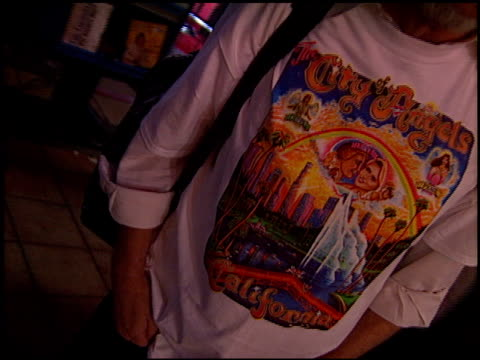 Merchandise at the 'City of Angels' Premiere at the Mann Village Theatre in Westwood California on April 8 1998