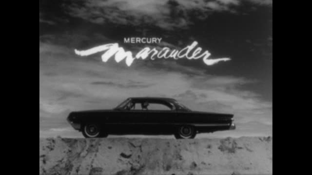 1964 mercury marauder tv commercial - moving past stock videos & royalty-free footage