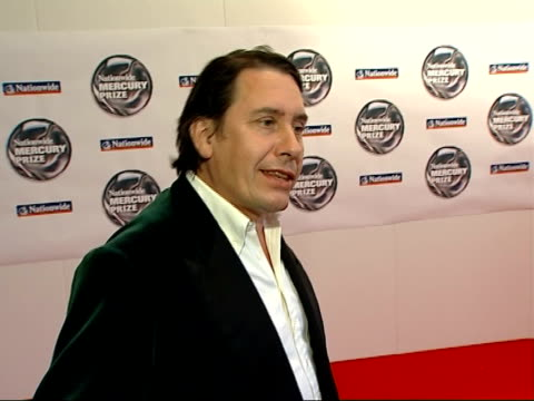vidéos et rushes de jools holland interview; england: london: int jools holland interview sot - talks about criticism for awards choices/ wide range of music represented... - jools holland