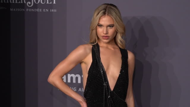 stockvideo's en b-roll-footage met meredith mickelson at the 21st annual amfar gala new york at cipriani wall street on february 06 2019 in new york city - amfar