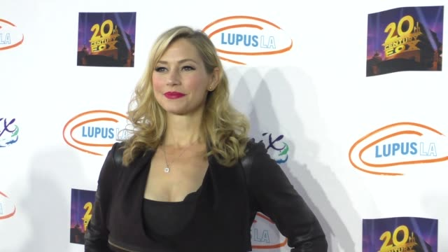 meredith monroe at the lupus la orange ball a night of superheroes at fox studios in los angeles at celebrity sightings in los angeles on may 07 2016... - lupus la orange ball video stock e b–roll