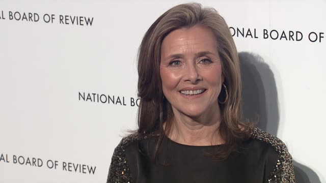 meredith vieira 2013 national board of review awards gala - arrivals at cipriani, wall street on january 08, 2013 in new york, new york - meredith vieira stock videos & royalty-free footage