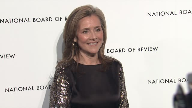 meredith vieira at 2013 national board of review awards gala - arrivals at cipriani, wall street on january 08, 2013 in new york, new york - meredith vieira stock videos & royalty-free footage