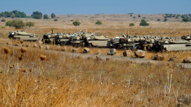 merkava tanks - israeli military stock videos & royalty-free footage