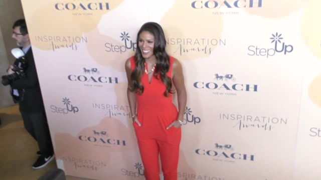 merle dandridge at the step up 14th annual inspiration awards at the beverly hilton hotel on june 02, 2017 in beverly hills, california. - the beverly hilton hotel点の映像素材/bロール