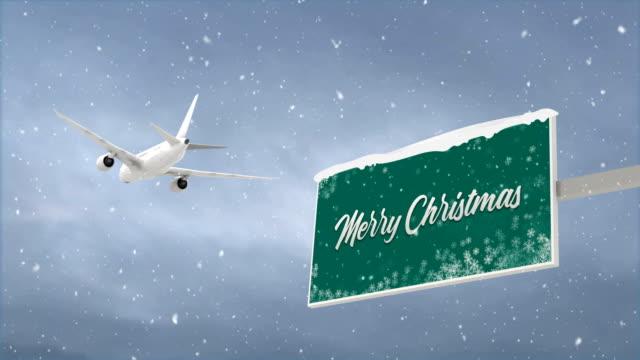 メリークリスマスとホリデーコンセプト、4kループ - クリスマスカード点の映像素材/bロール