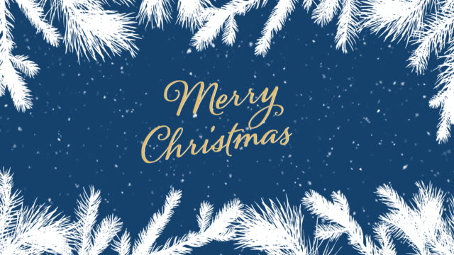 merry christmas background - frame border stock videos & royalty-free footage