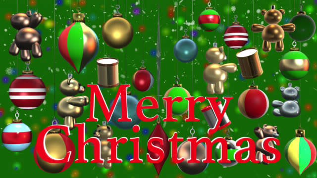 Christmas drum videos and b roll footage getty images merry christmas greeting with christmas decorations and snow m4hsunfo