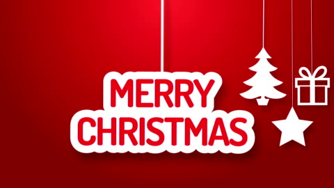 merry christmas hanging on a wire - bouncing stock videos & royalty-free footage