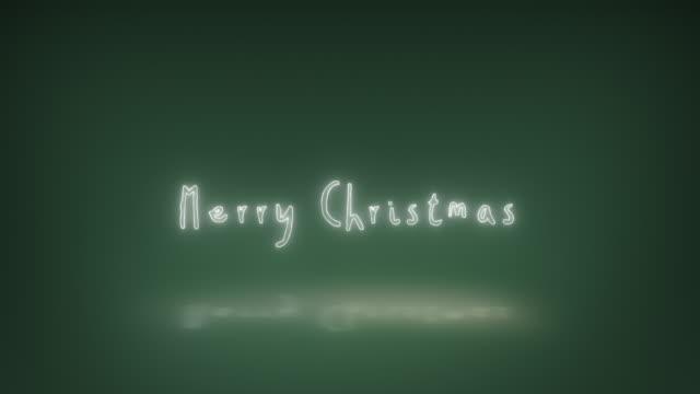 vídeos y material grabado en eventos de stock de feliz año nuevo feliz navidad animación texto - arte decorativo