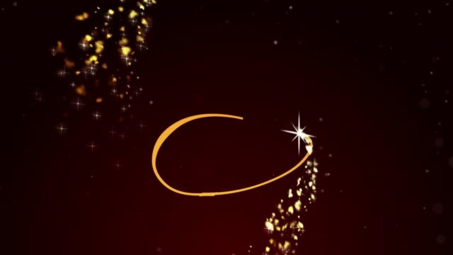 merry christmas text with glittering motion graphic on animated star background - anniversary stock videos & royalty-free footage