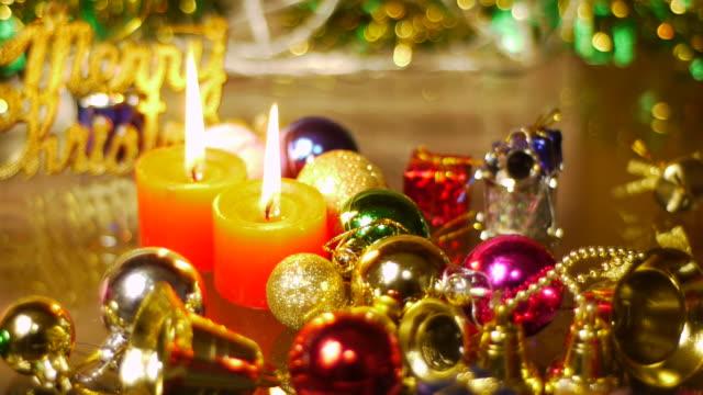 vídeos y material grabado en eventos de stock de merry navidad - parpadear