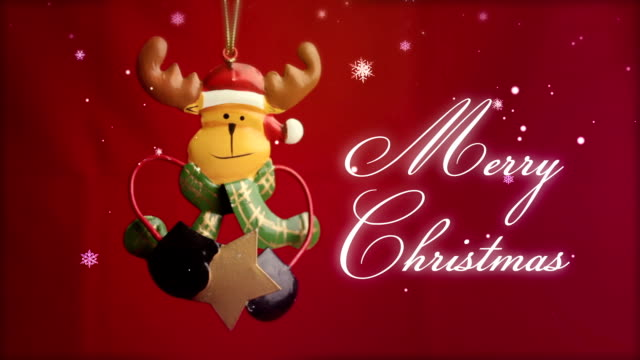 merry christmas - funny merry christmas greetings stock videos and b-roll footage