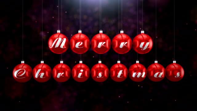 merry クリスマス  - ナイトイン点の映像素材/bロール