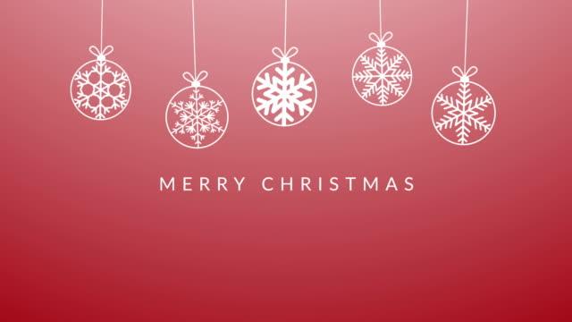 merry christmas wishes - testo video stock e b–roll