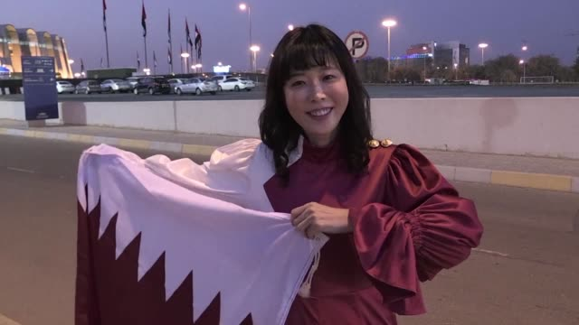 Merry Lee came from South Korea to the Asian Cup in Abu Dhabi to cheer for Qatar and she plans on cheering them on until the final stages of the...