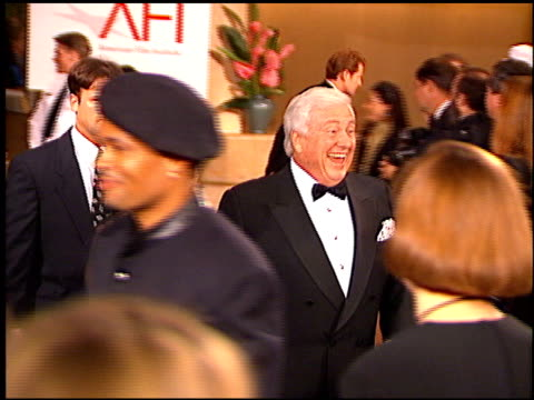 Merv Griffin at the AFI Honors Honoring Clint Eastwood entrances at the Beverly Hilton in Beverly Hills California on March 1 1996