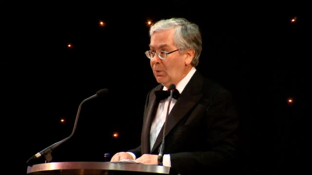 mervyn king speaks at nottingham cbi dinner; - to be clear, the scheme does not mean that the taxpayer will bear the full brunt of past lending... - banking sign stock videos & royalty-free footage