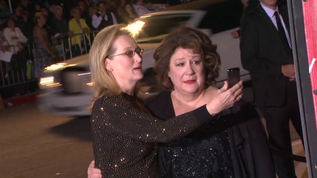 Meryl Streep and Margo Martindale at the 25th Annual Palm Springs International Film Festival Awards Gala Presented By Cartier in Palm Springs CA on...
