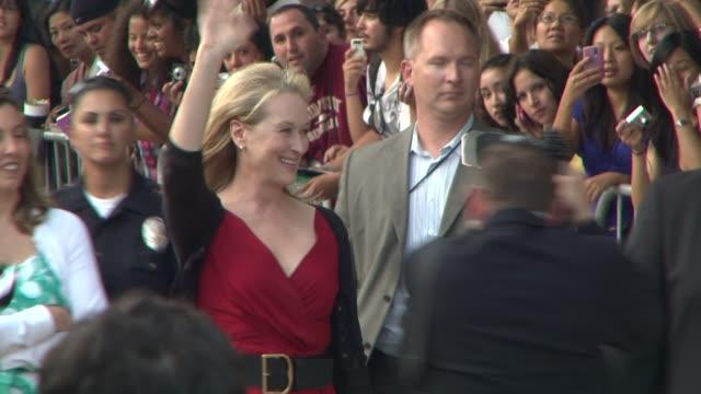 Meryl Streep at the 'Julie Julia' Special Screening at Westwood Los Angeles CA