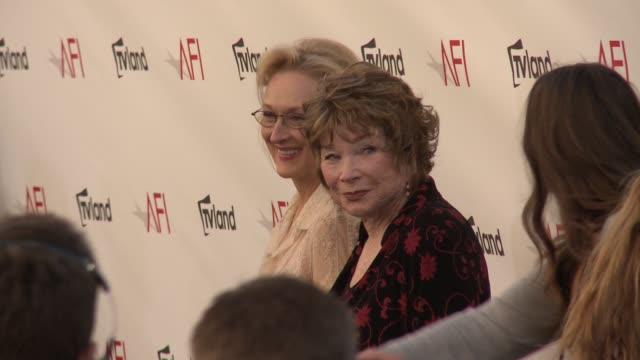 Meryl Streep Shirley MacLaine at Shirley MacLaine Honored with the 40th AFI Life Achievement Award Meryl Streep Shirley MacLaine at Shirley MacLaine...