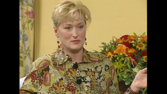 Meryl Streep talks about the Screen Actors Guild's study of gender pay gaps in actor's salaries