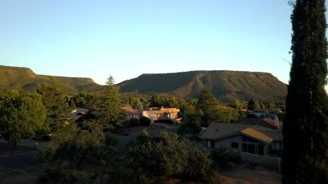 Mesa Rock approach at sunset
