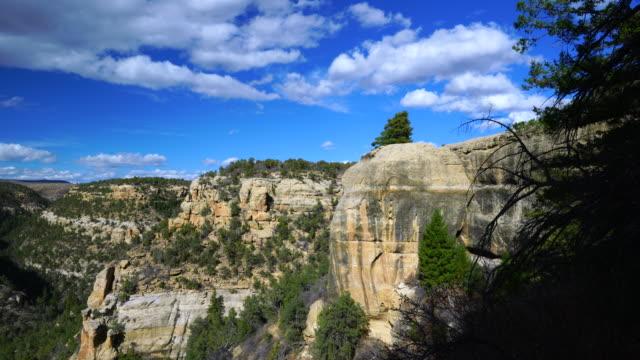 mesa verde national park, unesco world heritage, colorado, usa, north america, america - mesa verde national park stock videos & royalty-free footage
