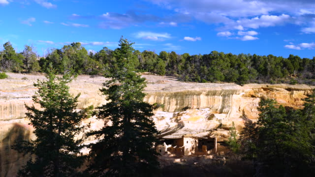 mesa verde national park, unesco world heritage, colorado, usa, north america, america - mesa verde nationalpark stock-videos und b-roll-filmmaterial