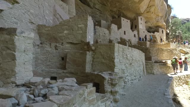 mesa verde national park - cliff dwelling stock videos & royalty-free footage