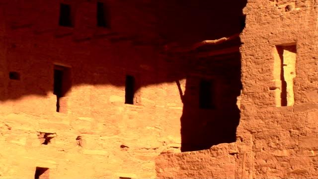 mesa verde national park - pueblo colorado stock videos & royalty-free footage