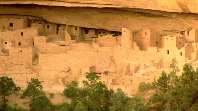 mesa verde national park - プエブロ文化点の映像素材/bロール
