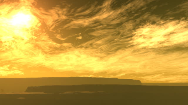 mesa - yellow sky - mesa stock videos and b-roll footage