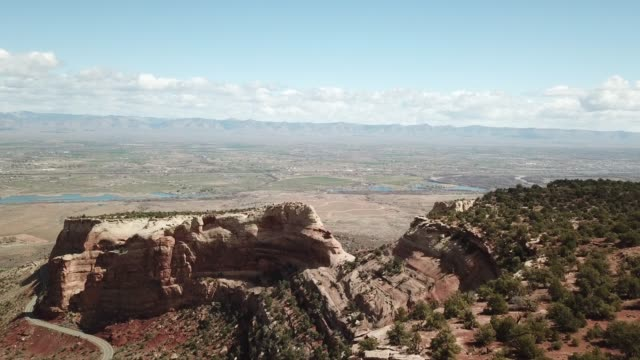 mesas and canyons of sandstone - sandstone stock videos & royalty-free footage