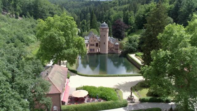 Mespelbrunn Water Castle In Spessart Mountain Range
