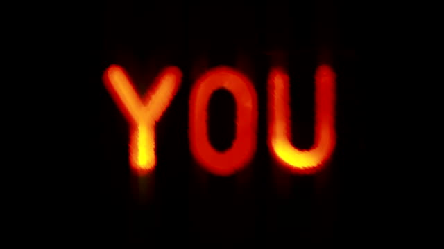 """""""i love you"""" message - i love you stock videos & royalty-free footage"""