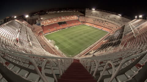 mestalla stadium of valencia soccer club - spain stock videos & royalty-free footage