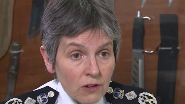 met police commissioner cressida dick saying 'these are challenging offences to investigate' and 'we nearly always arrest people' in the wake of a... - knife weapon stock videos and b-roll footage