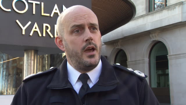 met police deputy assistant commissioner laurence taylor saying they are looking to see if any of the harassment suffered by anna soubry by probrexit... - 2016 european union referendum stock videos & royalty-free footage