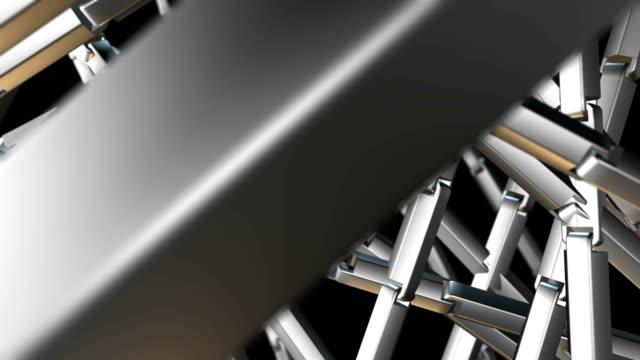 metal chain - steel stock videos & royalty-free footage