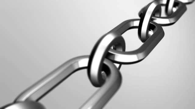 metal chain - chain stock videos & royalty-free footage
