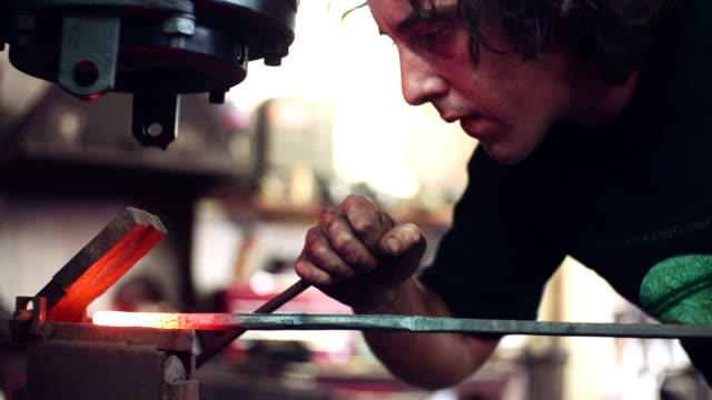 metal fabrication - foundry stock videos and b-roll footage