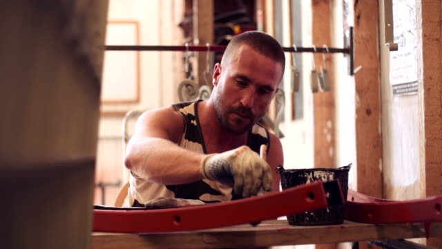 metal fabrication - construction worker stock videos & royalty-free footage