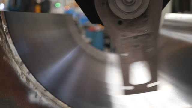 metal grinding machine in industry - grinding stock videos and b-roll footage