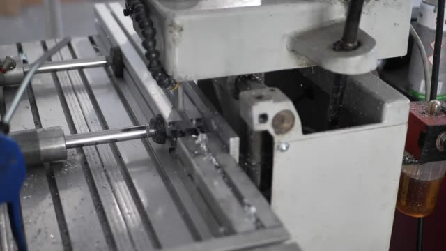 metal industry - drill machine in hd slow motion - alloy stock videos & royalty-free footage