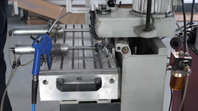 metal industry - drill machine - alloy stock videos & royalty-free footage