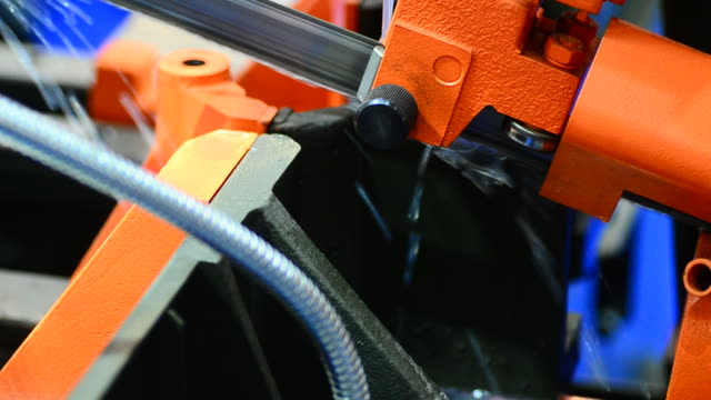 hd: metal milling cutting machine - metal industry stock videos and b-roll footage