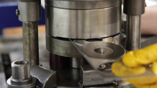 metal molding process in a factory - aluminum stock videos and b-roll footage